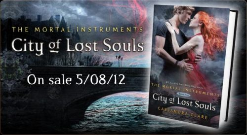 "City of Lost Souls - out 8th May 2012 The New York Times bestselling Mortal Instruments continues—and so do the thrills and danger for Jace, Clary, and Simon. Can the lost be reclaimed? What price is too high to pay for love? Who can be trusted when sin and salvation collide? Love. Blood. Betrayal. Revenge. Darkness threatens to claim the Shadowhunters in the harrowing fifth book of the Mortal Instruments series.  City of Lost Souls: Excerpt Simon stood and stared numbly at the front door of his house.  He'd never known another home. This was the place his parents had brought him home to when he was born. He had grown up within the walls of the Brooklyn row house. He'd played on the street under the leafy shade of the trees in the summer, and had made improvised sleds out of garbage can lids in the winter. In this house his whole family had sat shivah after his father had died. Here he had kissed Clary for the first time.  He had never imagined a day when the door of the house would be closed to him. The last time he had seen his mother, she had called him a monster and prayed at him that he would go away. He had made her forget that he was a vampire, using glamour, but he had not known how long the glamour would last. As he stood in the cold autumn air, staring in front of him, he knew it had not lasted long enough.  The door was covered with signs—Stars of David splashed on in paint, the incised shape of the symbol for Chai, life. Tefillin were bound to the doorknob and knocker. A hamesh, the Hand of God, covered the peephole.  Numbly he put his hand to the metal mezuzah affixed to the right side of the doorway. He saw the smoke rise from the place where his hand touched the holy object, but he felt nothing. No pain. Only a terrible empty blankness, rising slowly into a cold rage.  He kicked the bottom of the door and heard the echo through the house. ""Mom!"" he shouted. ""Mom, it's me!""  There was no reply—only the sound of the bolts being turned on the door. His sensitized hearing had recognized his mother's footsteps, her breathing, but she said nothing. He could smell acrid fear and panic even through the wood. ""Mom!"" His voice broke. ""Mom, this is ridiculous! Let me in! It's me, Simon!""  The door juddered, as if she had kicked it. ""Go away!"" Her voice was rough, unrecognizable with terror. ""Murderer!""  ""I don't kill people."" Simon leaned his head against the door. He knew he could probably kick it down, but what would be the point? ""I told you. I drink animal blood.""  He heard her whisper, softly, several words in Hebrew. ""You killed my son,"" she said. ""You killed him and put a monster in his place.""  ""I am your son—""  ""You wear his face and speak with his voice, but you are not him! You're not Simon!"" Her voice rose to almost a scream. ""Get away from my house before I kill you, monster!""  ""Becky,"" he said. His face was wet; he put his hands up to touch it, and they came away stained: His tears were bloody. ""What have you told Becky?""  ""Stay away from your sister."" Simon heard a clattering from inside the house, as if something had been knocked over.  ""Mom,"" he said again, but this time his voice wouldn't rise. It came out as a hoarse whisper. His hand had begun to throb. ""I need to know—is Becky there? Mom, open the door. Please—""  ""Stay away from Becky!"" She was backing away from the door; he could hear it. Then came the unmistakeable squeal of the kitchen door swinging open, the creak of the linoleum as she walked on it. The sound of a drawer being opened. Suddenly he imagined his mother grabbing for one of the knives.  Before I kill you, monster.  The thought rocked him back on his heels. If she struck out at him, the Mark would rise. It would destroy her as it had destroyed Lilith.  He dropped his hand and backed up slowly, stumbling down the steps and across the sidewalk, fetching up against the trunk of one of the big trees that shaded the block. He stood where he was, staring at the front door of his house, marked and disfigured with the symbols of his mother's hate for him.  No, he reminded himself. She didn't hate him. She thought he was dead. What she hated was something that didn't exist. I am not what she says I am.  He didn't know how long he would have stood there, staring, if his phone hadn't begun to ring, vibrating his coat pocket.  He reached for it reflexively, noticing that the pattern from the front of the mezuzah—interlocked Stars of David—was burned into the palm of his hand. He switched hands and put the phone to his ear. ""Hello?""  ""Simon?"" It was Clary. She sounded breathless. ""Where are you?""  ""Home,"" he said, and paused. ""My mother's house,"" he amended. His voice sounded hollow and distant to his own ears. ""Why aren't you back at the Institute? Is everyone all right?""  ""That's just it,"" she said. ""Just after you left, Maryse came back down from the roof where Jace was supposed to be waiting. There was no one there.""  Simon moved. Without quite realizing he was doing it, like a mechanical doll, he began walking up the street, toward the subway station. ""What do you mean, there was no one there?""  ""Jace was gone,"" she said, and he could hear the strain in her voice. ""And so was Sebastian.""  Simon stopped in the shadow of a bare-branched tree. ""But he was dead. He's dead, Clary—""  ""Then you tell me why he isn't there, because he isn't,"" she said, her voice finally breaking. ""There's nothing up there but a lot of blood and broken glass. They're both gone, Simon. Jace is gone… .""  What are your thoughts, speculations and theories?"
