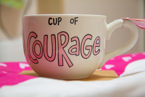 No need for alcohol, coffee will do just fine when I need courage<3
