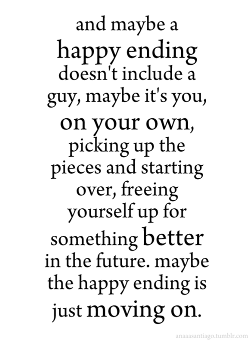 Happy endings…