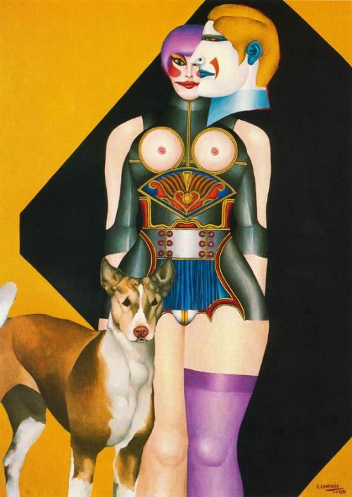 Richard Lindner, Woman 1970