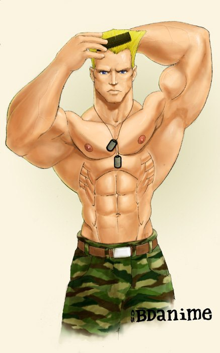 Street Fighter's GUILE, by BD ANIME!