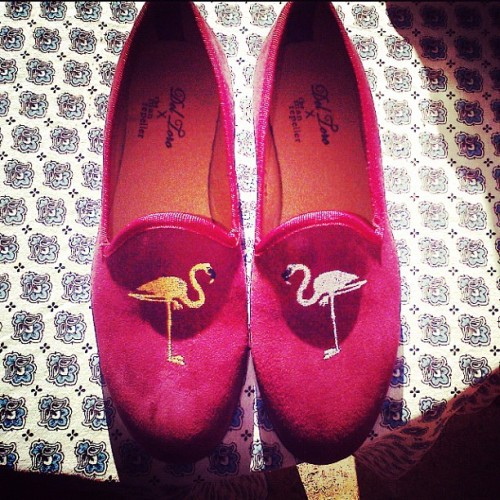 Man Repeller x Del Toro collaboration officially in tow. #fancyflamingo (Taken with instagram)