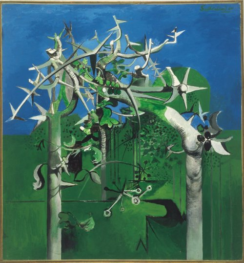 Graham Sutherland, Thorn Trees (1945)