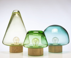 Skog lamps by Caroline Olsson.