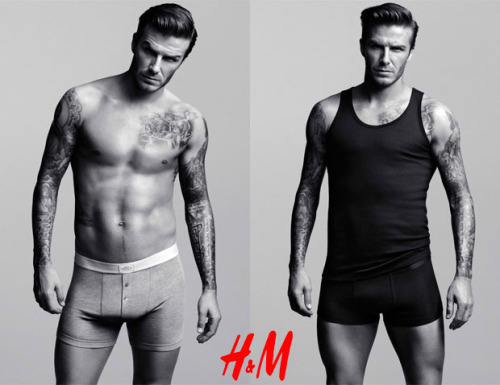"David ""BeckH&M"" Bodywear Much to the delight of ladies, more photos of Mr. Beckham can be seen by clicking the picture above."
