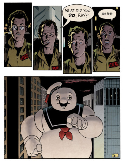 dromundkaas:  Mr Stay Puft from Ghostbusters made by DocShaner