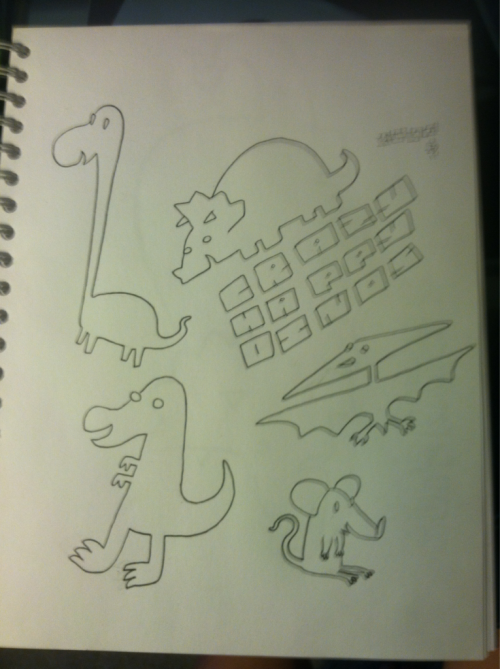 CRAZY HAPPY DINOS!! (Taking a few weeks off from Ghostboy.)