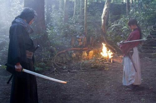 Rurouni Kenshin live action trailer cast
