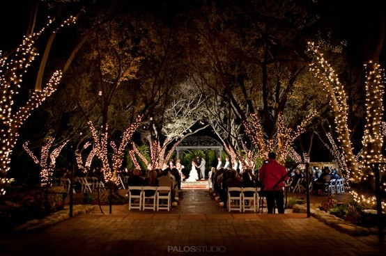 Gorgeous night wedding