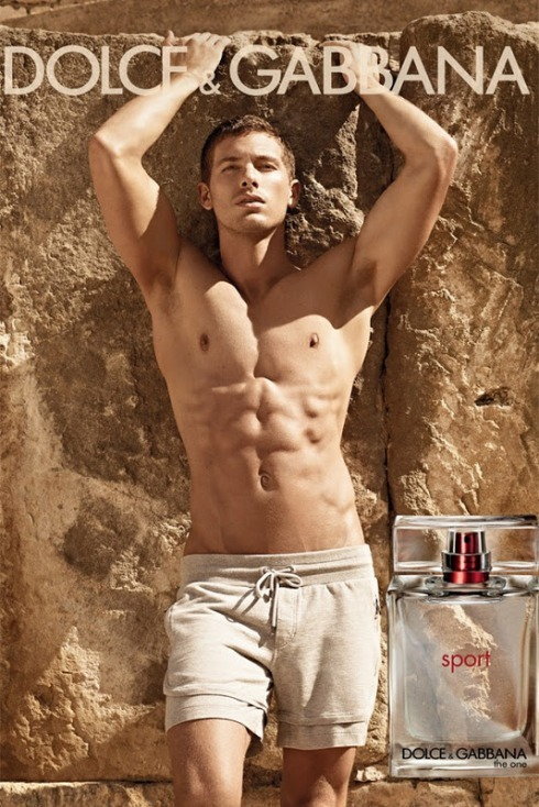 Adam Senn stars in Spring 2012 ad for Dolce & Gabbana fragrance.