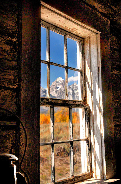 The Grand Teton - What A View by Ronnie Wiggin on Flickr.Jackson, Wyoming, USA