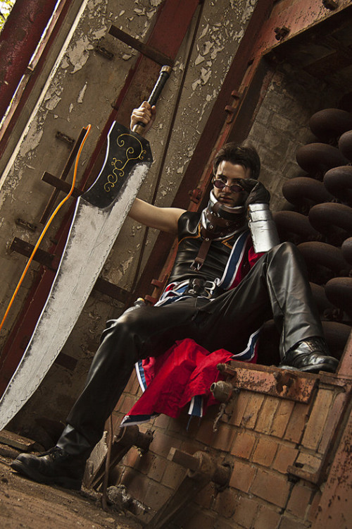Auron from Final Fantasy XCosplayer: TerraEbonPhotographer: Pyro911
