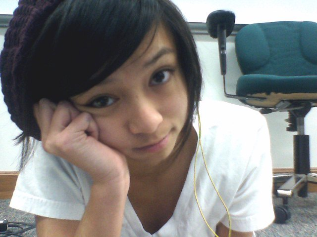 At Science Olympiad, laying on the ground of the computer lab, listening to Sexy Bitch, and studying Ebola. Meh, so bored. Everyone who came from West is a builder and Christian isn't here, so I'm lonely. And Cole and Max said they'd come. Poopfaces.