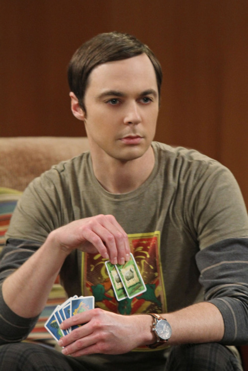 cartrunkent:  Sheldon Cooper playing Settlers of Catan in an upcoming episode of The Big Bang Theory.