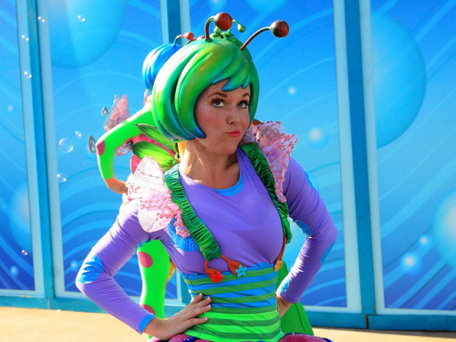 fuckyeahdisneyentertainment:  Pixar Play Parade: a bug's life dancer by armadillo444 on Flickr.
