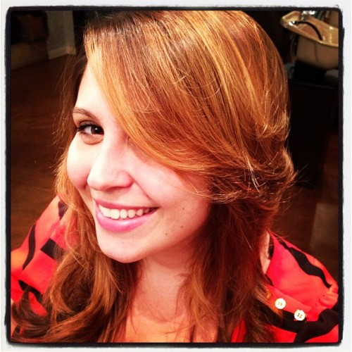 Sunkist highlights are the best kind and Alison really pulls them off with her beach wavy hair. #balayage #longhair #layers #highlights (Taken with instagram)