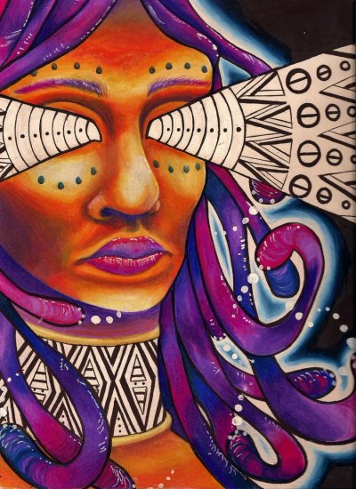 Tribal Power by x-surrealist-x via northwestaspirations   source