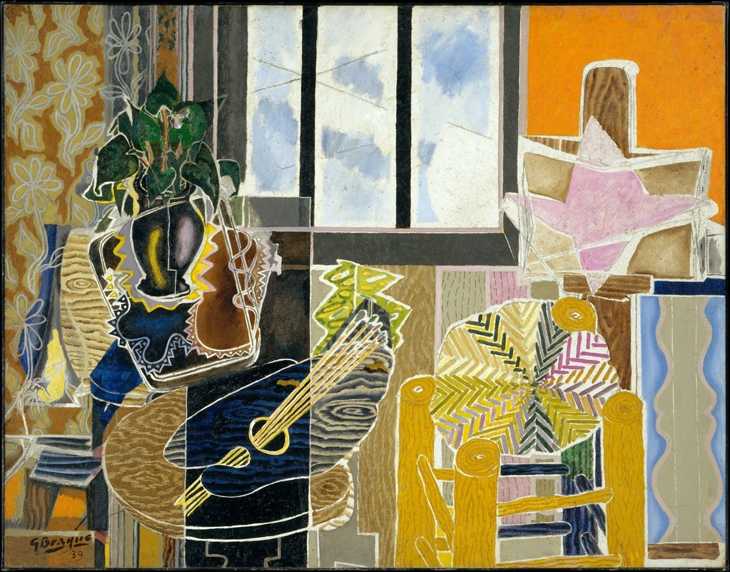 Georges Braque, The Studio (Vase before a Window), 1939.   MET