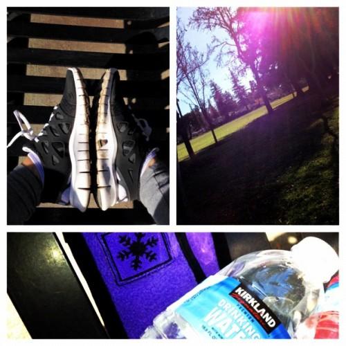Enjoying the outdoors #run #muddy #freshair #health #freerun #justdoit (Taken