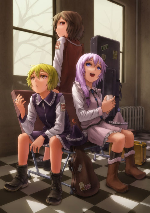 虹川三姉妹 | くりおね [pixiv] music students being music students