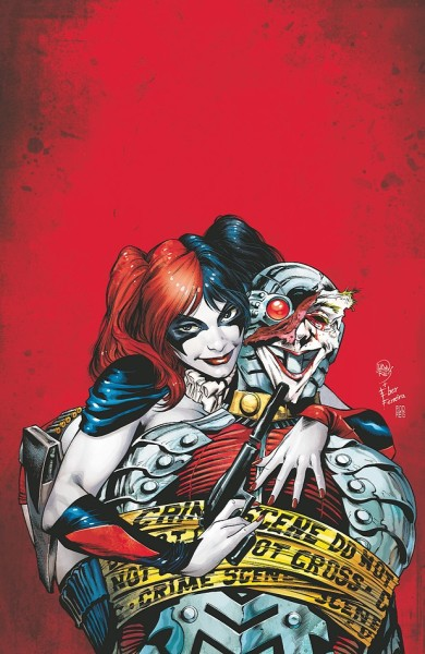 SUICIDE SQUAD #7Written by ADAM GLASSArt by CLAYTON HENRYCover by IVAN REIS and EBER FERREIRAOn sale MARCH 14 • 32 pg, FC, $2.99 US • RATED T+Hunted  through the streets of Gotham City, her former teammates on the Suicide  Squad in relentless pursuit – Harley Quinn is out of friends, out of  luck and out of time. Will Harley find The Joker before the Squad finds  her? Place your bets, people: It's Harley Quinn vs. the Suicide Squad!  Plus: Harley's origin revealed – it ain't pretty!