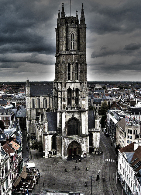 Kathedrale Gent on Flickr. shot in october 2009