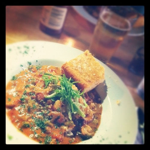 Étouffée on a relaxing trip to the states :) (Taken with Instagram at Bayou on Bay)