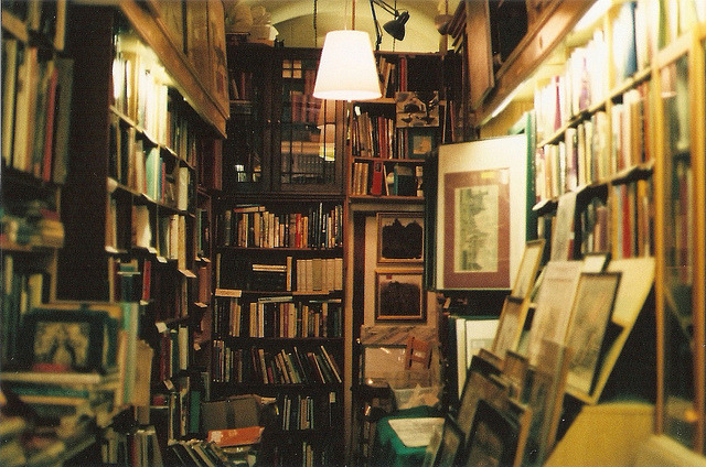 | ♕ |  Old book shop in Edinburgh  | by © Alex Mepham | via ysvoice