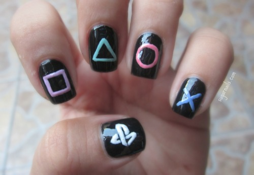 sugarnails:  PlayStation Nails.