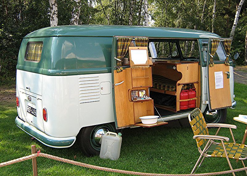 another photo of the 1950 VW Westfalia camper van