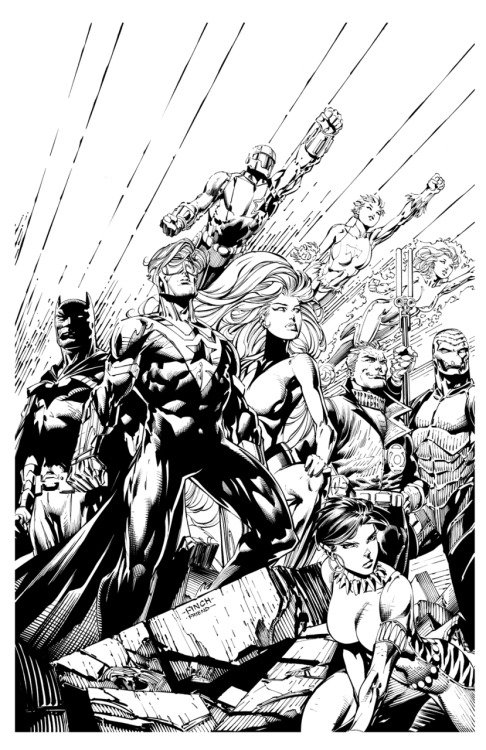 Justice League International cover 6 by *RichardFriend