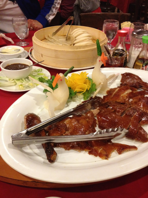 Peking Duck at Golden City Restaurant in Colmar, PA.