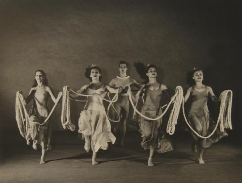 Every Soul Is A Circus Martha Graham Group by Barbara Morgan, 1938