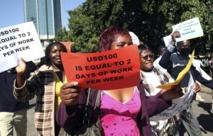 Zimbabwe's teachers are set to strike at the beginning of the new term. The teachers are striking for a wage which is at least over the poverty line. Teachers earn between $250 and $320 a month – the minimum required to keep a family of four out of poverty is $500. (via Zimbabwe's Teachers to Strike | Teacher Solidarity)