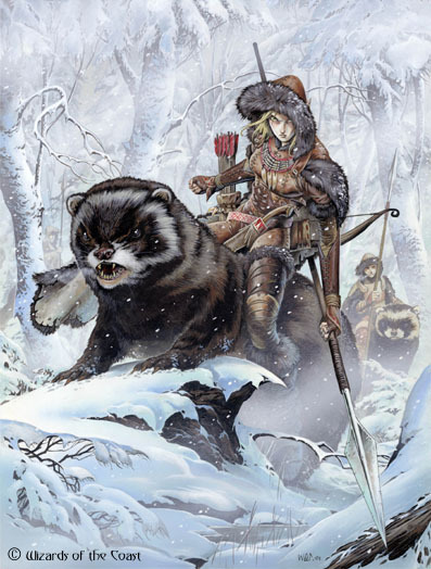 Halfling ferret riders? That'd get me to play D&D Next…. :)  inhellsdespair:  fuckyeah-nerdery:  itsallforyoudamien:  fuckyeah-nerdery:  Are those giant ferrets?  Oh my… Fuck dragons, I want to ride into battle on a giant ferret.  I wrote part of a story years ago that featured Ostads, a fictional animal I created. Ostads were basically llamas the size of horses.  HALFLING CAVALRY ON DIRE FERRETS?  halfling cavalry on dire ferrets.