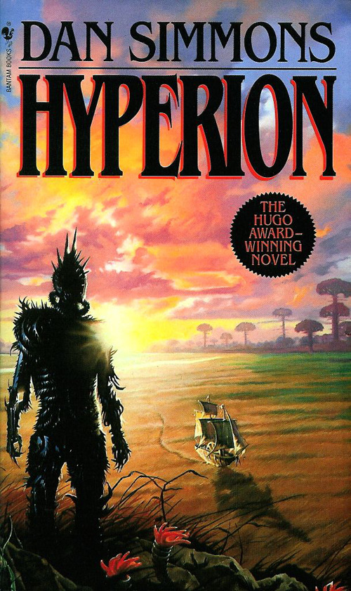 book club reading list: Hyperion, Dan Simmons