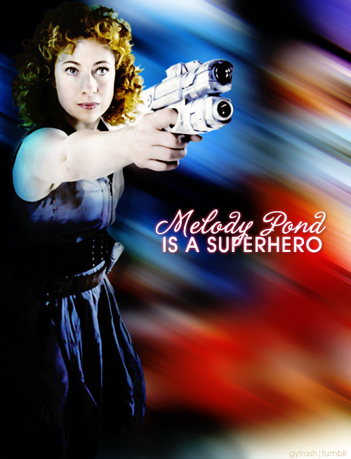 River Song is my favorite BadAss.