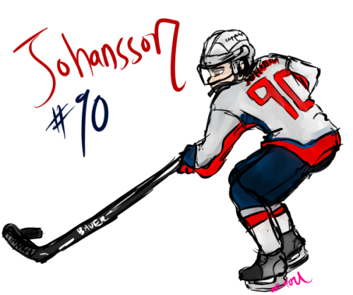 hawkscapslove:  Marcus Johansson requested by: http://heynickyyouresofine.tumblr.com/ Oh Mojo, I had to redraw you twice. :I You so complicated you little Swede.  But he's a cutie just like his Swede Brother Backy.   Gonna go watch the game and draw another pic :) Hopefully I can do two.