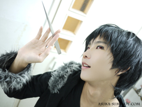 2nd Photo My cosplay of the character Orihara Izaya (折原 臨也) from the anime Durarara!!. Photo taken in the year 2010.