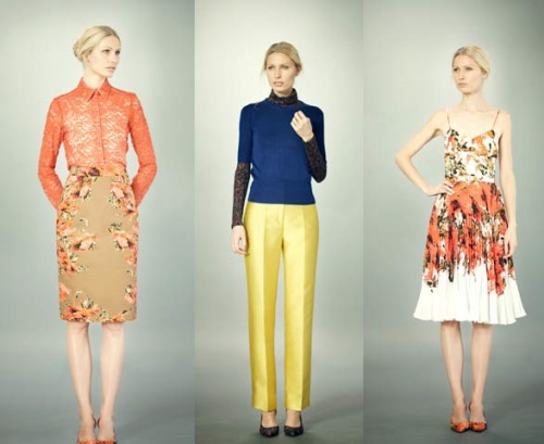 Perfection. Erdem pre-fall 2012.