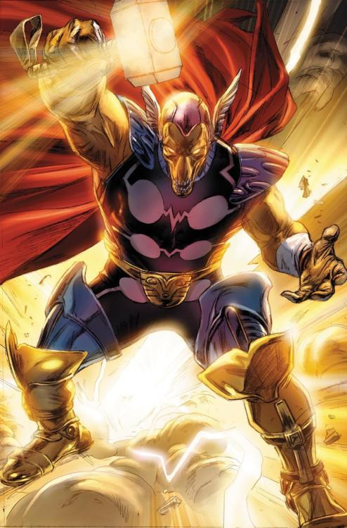 Beta Ray Bill by Doug Braithwaite