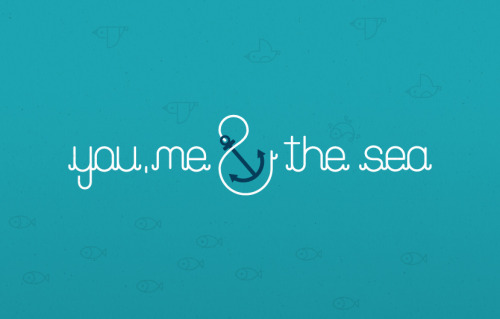 by9:  You, Me And The Sea (via Ed Nacional)