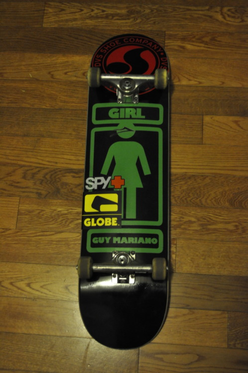 new board and truck :)