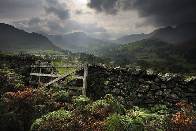 Newlands View, Cumbria by Ian Snowdon - downtoearthimages.co.uk on Flickr.