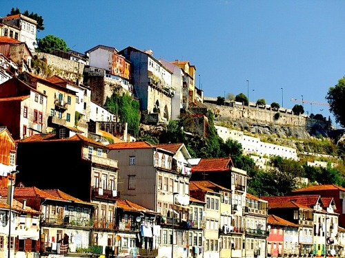 ysvoice:  | ♕ |  Sunny hillside of Porto, Portugal  | by © Jesus_l