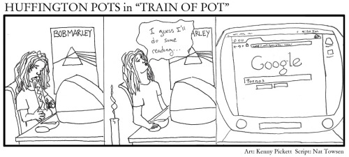 "Sunday Funnies: Huffington Pots #11 Huffington Pots returns with a ""rip""-roaring new adventure for 2012!"