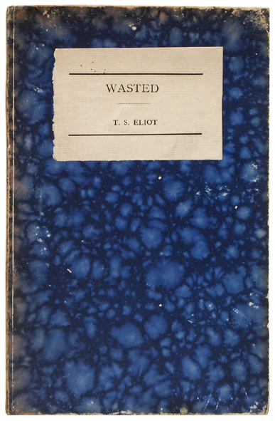mark mcevoy WASTED, 2012 altered book