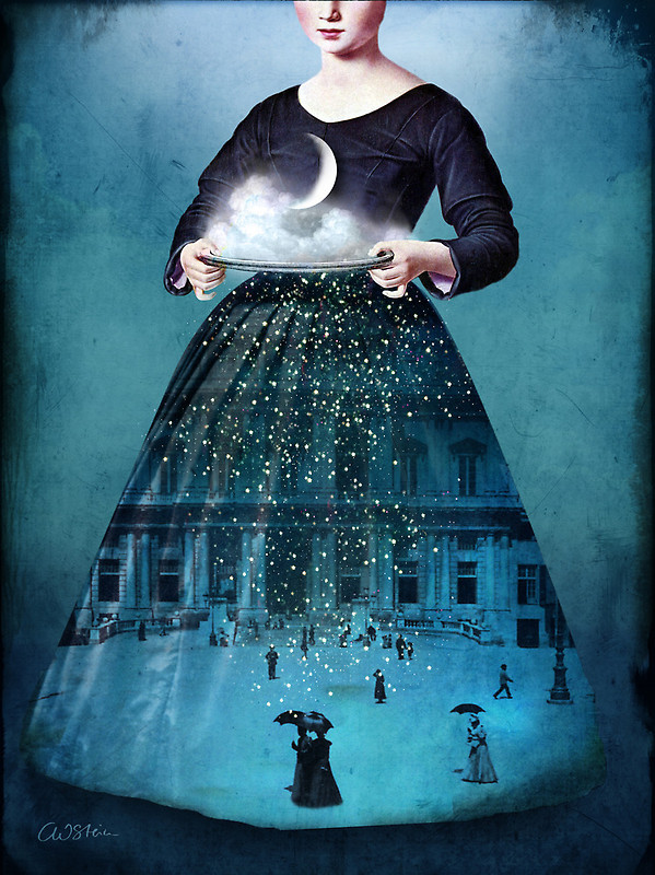 black-tangled-heart:  Frau Holle by Catrin Welz-Stein
