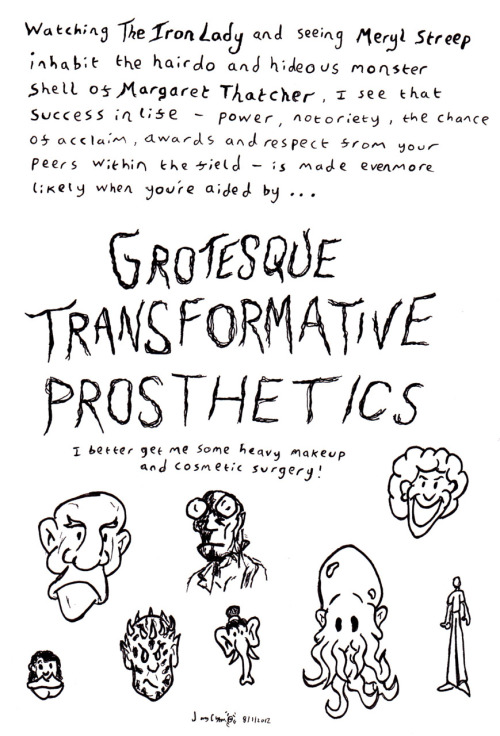 GROTESQUE TRANSFORMATIVE PROSTHETICS