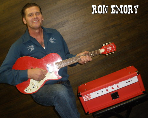 TSOL's Ron Emory digs red & white.